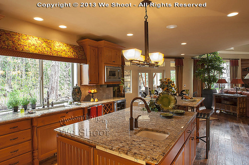 Kitchen In High-End Home