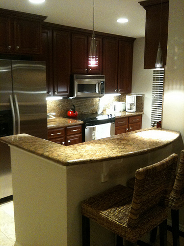 Stainless, granite