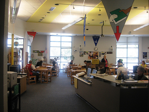 Granite Peaks High School Media Center