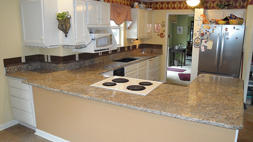 New Venetian Gold Granite Countertops