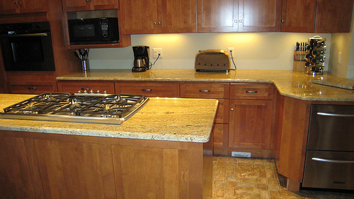 Madurai Gold Granite Countertops