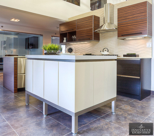 Innovative Kitchen Design - Contemporary kitchen with aluminum accents